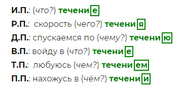 """В течение"" или ""в течении"" - правила написания"
